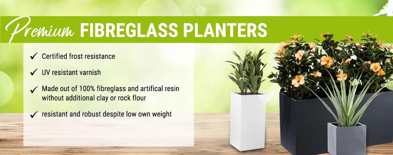 Premium Fibreglass Planters
