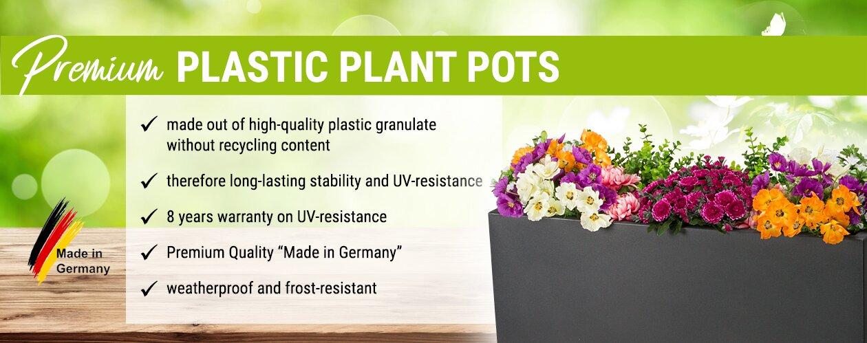 Premium Plastic Plant Pots