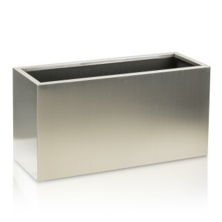 Plant Trough VISIO 30 Stainless Steel brushed