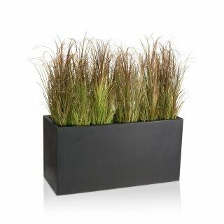 Plant Trough VISIO 50 Plastic charcoal-grey matt