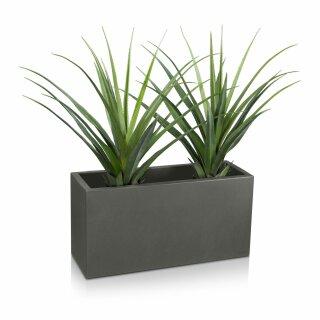 Plant Trough VISIO 40 Plastic basalt-grey matt