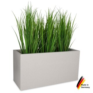 Plant Trough VISIO 50 Plastic terrazzo matt