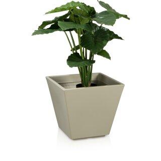 Plastic Planter VILLA 42 grey matt