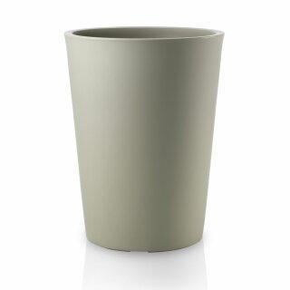 Plant Pot TUBO 42 Plastic grey matt