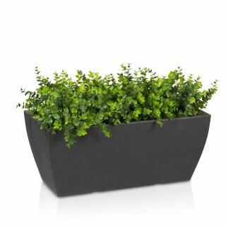 Plant Trough ARTESA 33 Plastic charcoal grey matt