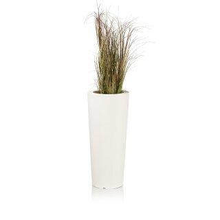 Plant Pot CONO 68 Plastic white matt