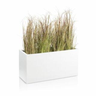 Plant Trough VISIO 40 Fibreglass white matt