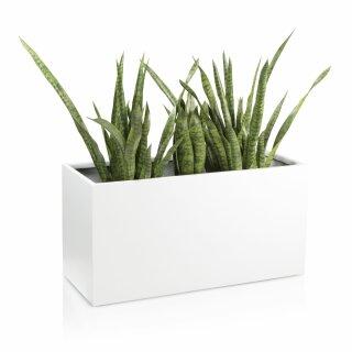 Plant Trough VISIO 50 Fibreglass white matt