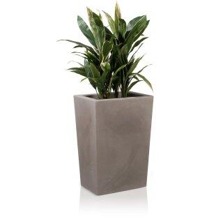 Plastic Planter LARGO M 70 Plant Trough, beige matt