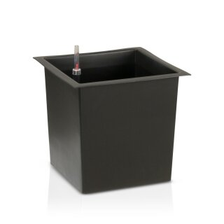 Plastic Insert with irrigation system for plant pots 30x30 cm
